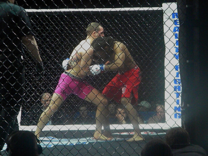 MMA Fighter Matt Bessette at Mohegan Sun Arena in CT