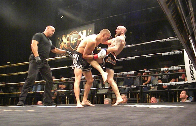 Gonzales and Fagan at Lion Fight 26