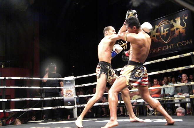 Eersel and Nattawut at Lion Fight 29