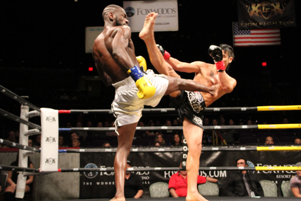 Julian Nguyen versus Michael Lawrence at Lion Fight 47