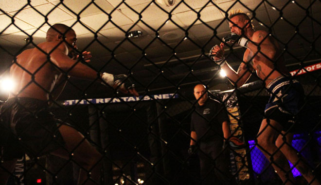 MMA fight between Justin Sumter and Ralph Johnson